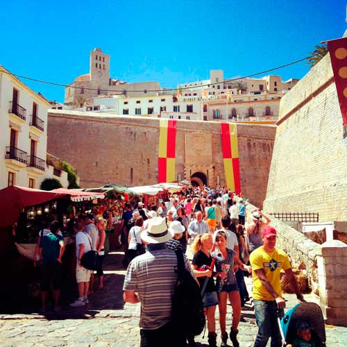 Ibizamedieval catedral