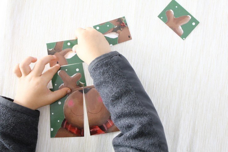 DIY-Puzzles-Using-Holiday-Cards-4