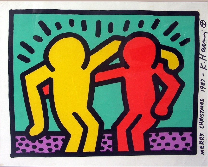 keith-haring-untitled-pop-shop-1-authenticated-christmas-card