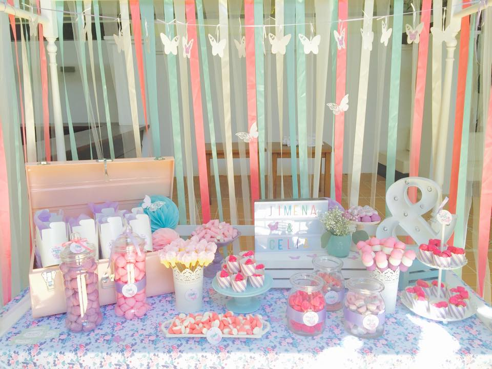 Chic events shop ibiza decoraci n para comuniones bodas - Decoracion con chuches para comuniones ...
