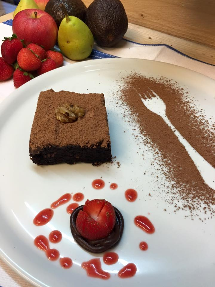 Brownie de algarroba